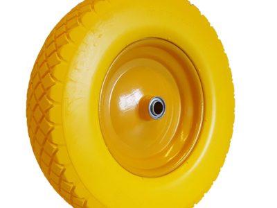 400 x 8 Pu Geel (Gele velg)